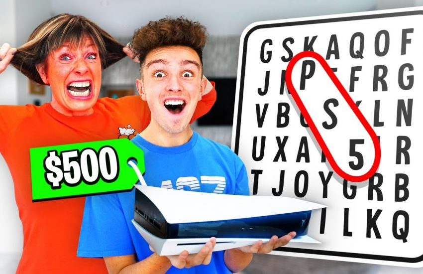 Find The Word, I'll Buy It For You - Morgz Challenge