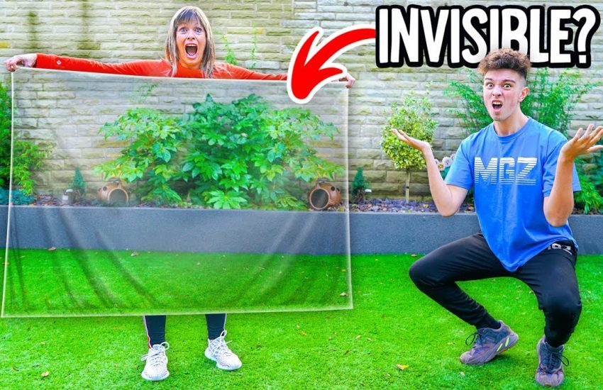 Does The Real Life INVISIBILITY Cloak Actually Work? - Morgz Mum