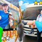 $100 ROAD TRIP vs $10,000 ROAD TRIP - Morgz Challenge