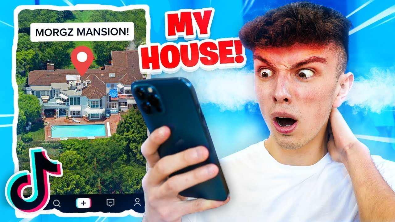 Reacting To TikTok's About Me! (LEAKED ADDRESS)